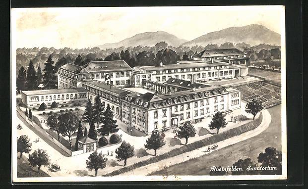 AK Rheinfelden, Sanatorium
