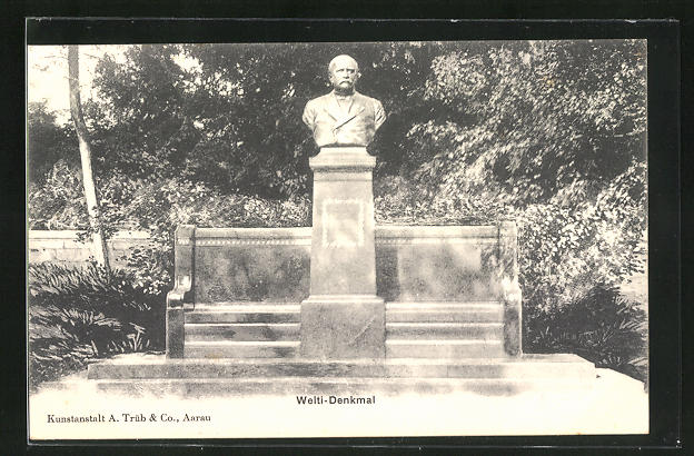AK Aarau, Welti-Denkmal