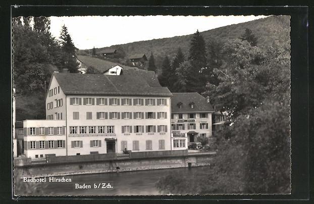 AK Baden, Badhotel Hirschen