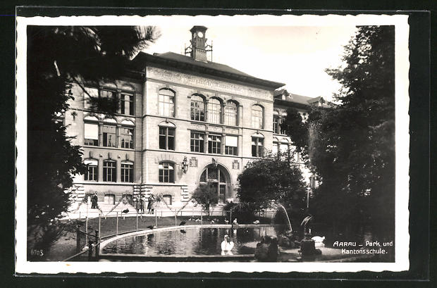 AK Aarau, Park und Kantonsschule