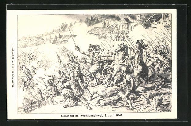 AK Wohlenschwyl, Schlacht 1641