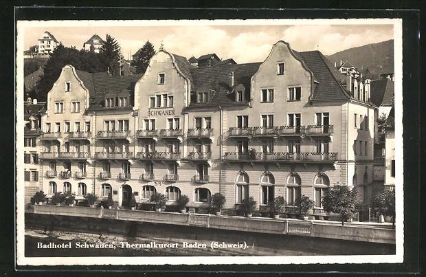 AK Baden, Badhotel Schwanen
