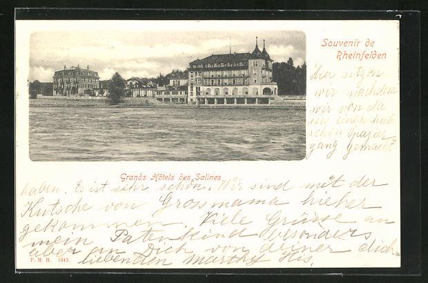 AK Rheinfelden, Grands Hotels des Salines