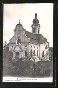 AK Brugg, Blick zur röm.-kath. Kirche