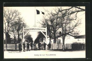 AK La Valbonne, Ecole d`Application de Tir, Camp de la Valbonne