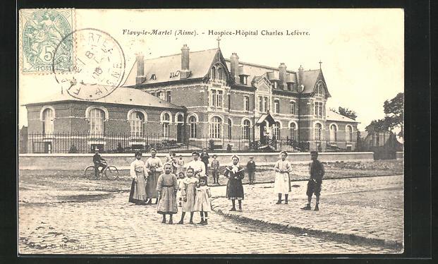 AK Flavy-le-Martel, Hospice-Hopital Charles Lefevre