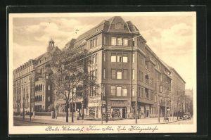AK Berlin-Wilmersdorf, Kaiser Allee Ecke Hildegardstrasse