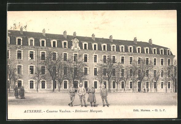 AK Auxerre, Caserne Vauban, Batiment Marquet