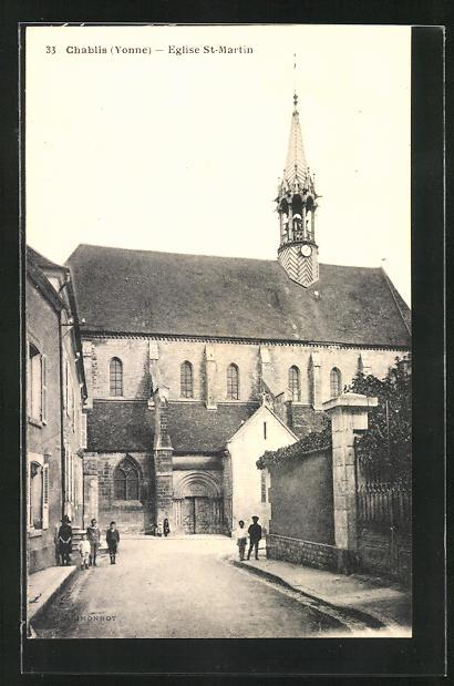 AK Chablis, Eglise St-Martin