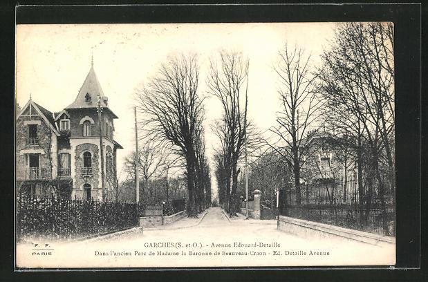 AK Garches, Avenue Edouard-Detaille