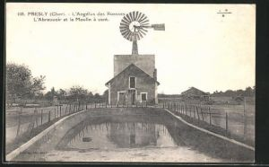 AK Presly, L`Abreuvoir et le Moulin à vent, Windmühle