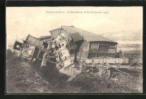 AK Raville, Le Deraillement 1905