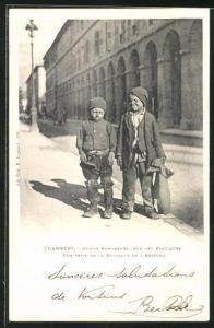AK Chambéry, petits Ramoneurs..., kleine Schornsteinfeger