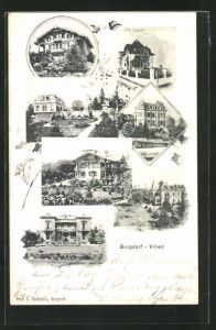 AK Burgdorf, Villa Roth, Villa Bucher, Villa Kindlimann, Villa Schmid, Villa Heiniger und Villa Hassler