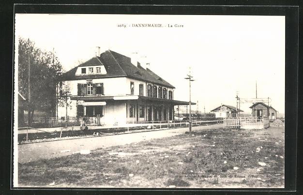 AK Dannemarie, La Gare