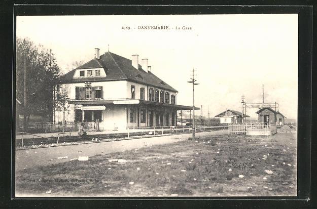 AK Dannemarie, La Gare 0