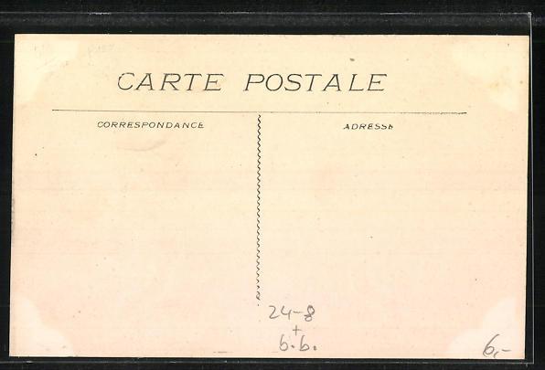AK St-Cannat, Ilot de Maisons sur le Bd. National, Tremblement de Terre 1909 1