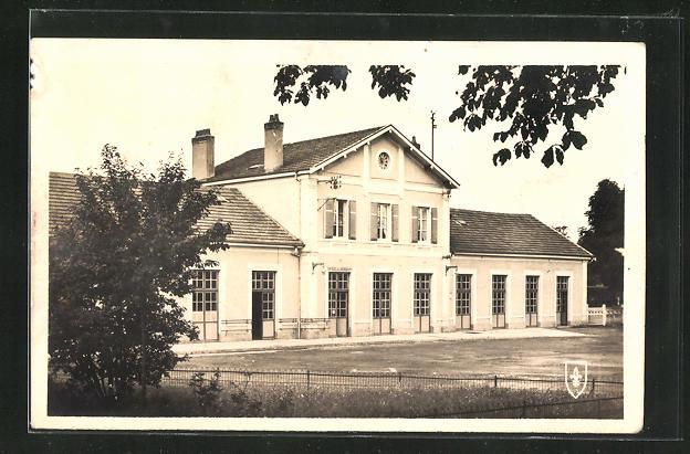 AK Mirecourt, La Gare, Blick zum Bahnhof 0