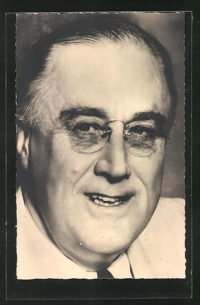 AK Franklin D. Roosevelt, Präsident der USA