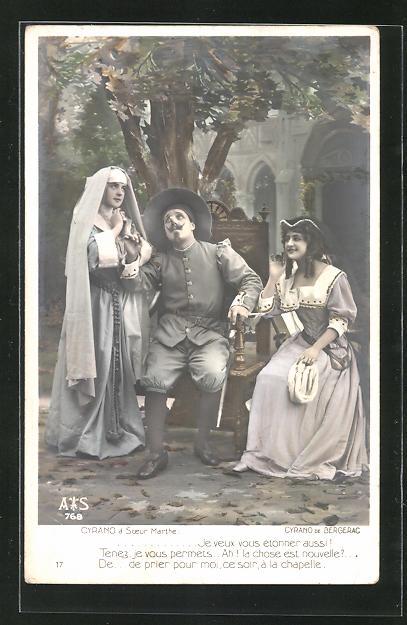 AK Cyrano de Bergerac, Cyrano à Soeur Marthe, Theater