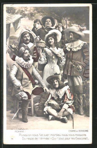 AK Cyrano de Bergerac, Roxane, Pusqu`on nous fait touer..., Theater 0