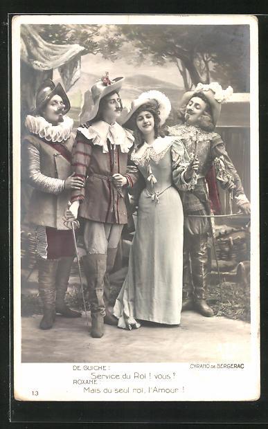 AK Cyrano de Bergerac, De Guiche & Roxane, Theater