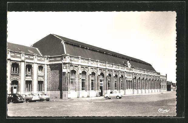 AK Jeumont, La Gare, Motiv vom Bahnhof 0