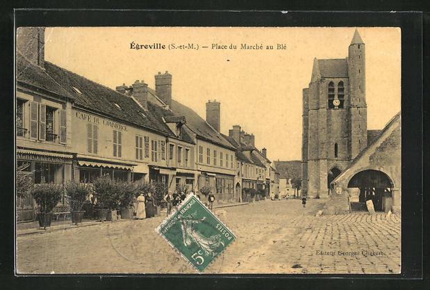 AK Ègreville, Place du Marchè au Blè 0