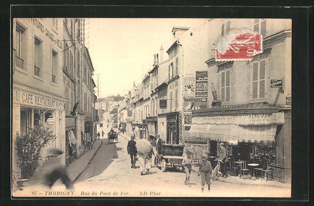 AK Thorigny, Rue du Pont de Fer 0