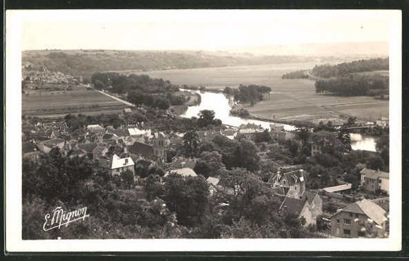 AK Nanteuil-sur-Marne, Vue génèrale