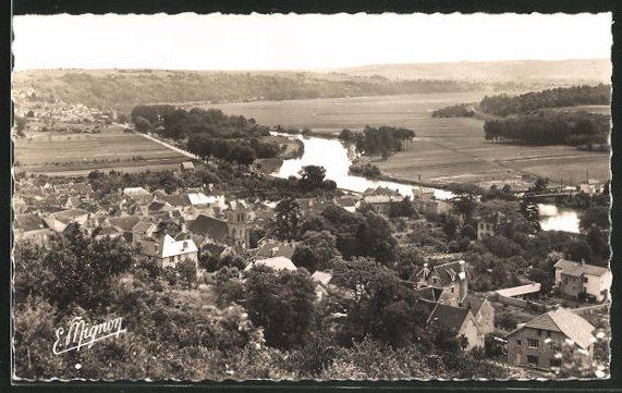 AK Nanteuil-sur-Marne, Vue gènèrale