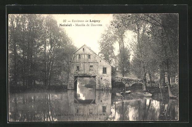 AK Noisiel, Moulin de Douvres 0