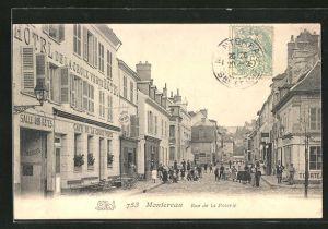 AK Montereau, Rue de la Poterie