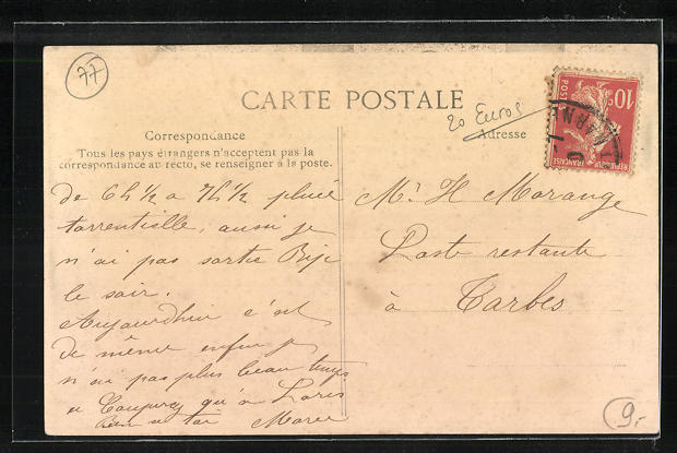 AK Pont-aux-Dames-Couilly, Maison de retraite de l` Associationdes Artistes Dramatiques 1