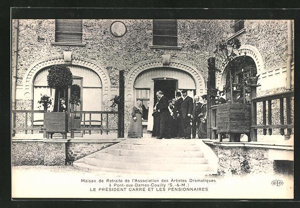 AK Pont-aux-Dames-Couilly, Maison de retraite de l` Associationdes Artistes Dramatiques