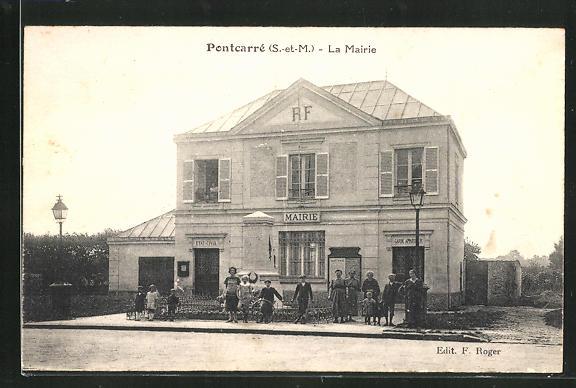 AK Pontcarrè, La Mairie 0