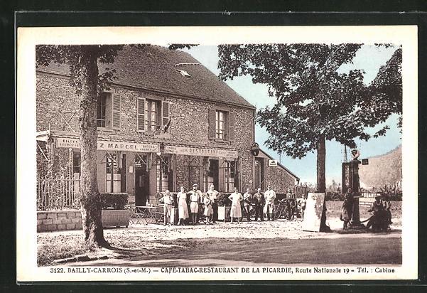 AK Bailly-Carrois, Cafè-Restaurant de la Picardie