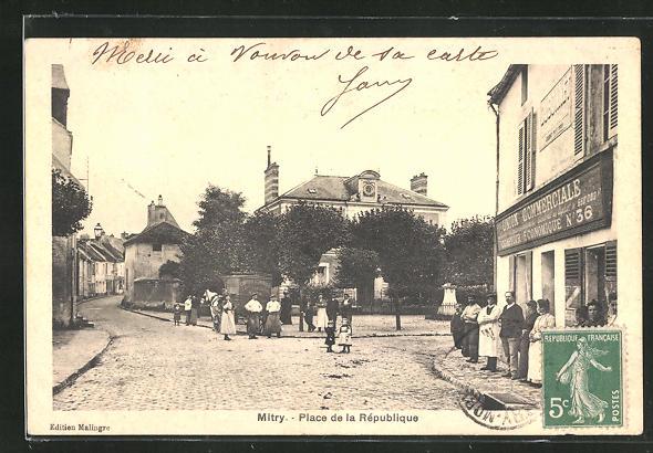 AK Mitry, Place de la Rèpublique