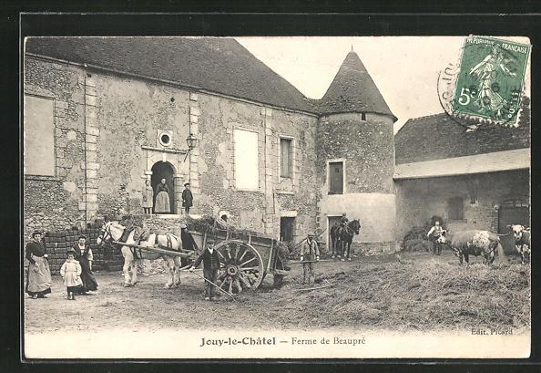 AK Jouy-le-Chàtel, Ferme de Beauprè 0