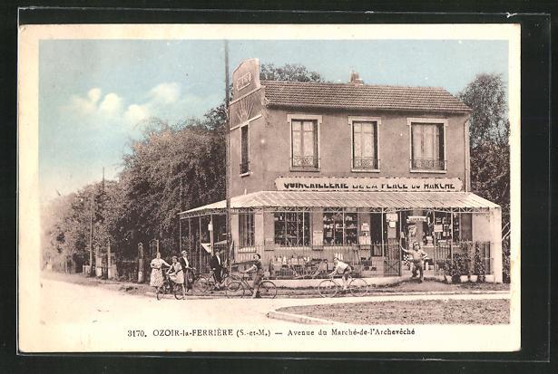 AK Ozoir-la-Ferrière, Avenue du Marchè-de-l` Archevechè