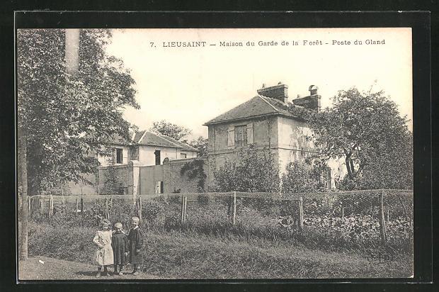 AK Lieusaint, Maison du Garde de la Foret, Poste du Gland