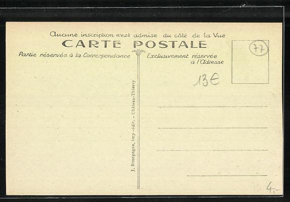 AK Nanteuil-sur-Marne, Le Barrage 1