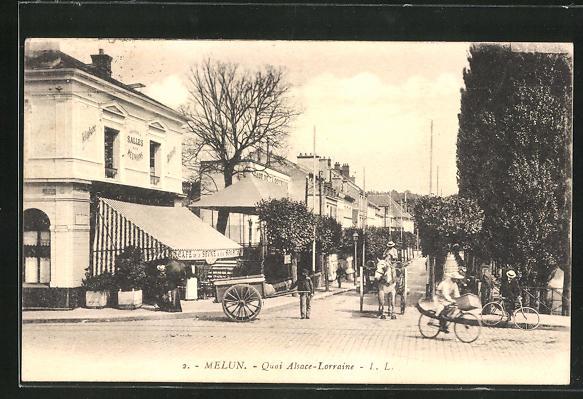 AK Melun, Quai Alsace-Lorraine 0