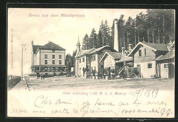 AK Münsterthale, Hotel Altenberg 0