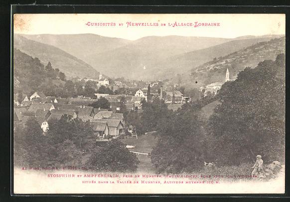 AK Stosswihr / Ampfersbach, Ortsansicht 0