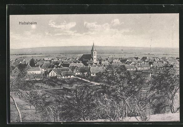 AK Habsheim, Ortsansicht 0