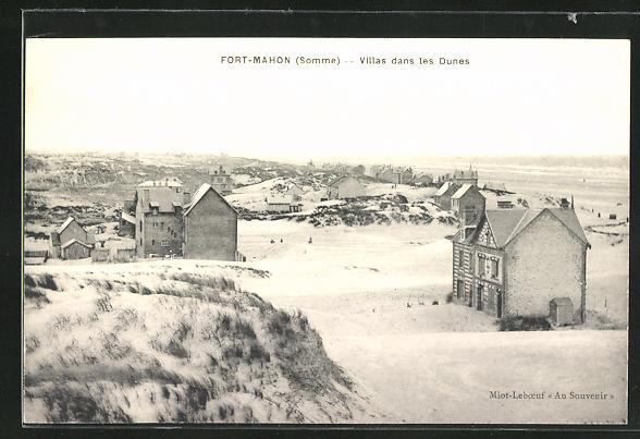AK Fort-Mahon, Villas dans les Dunes