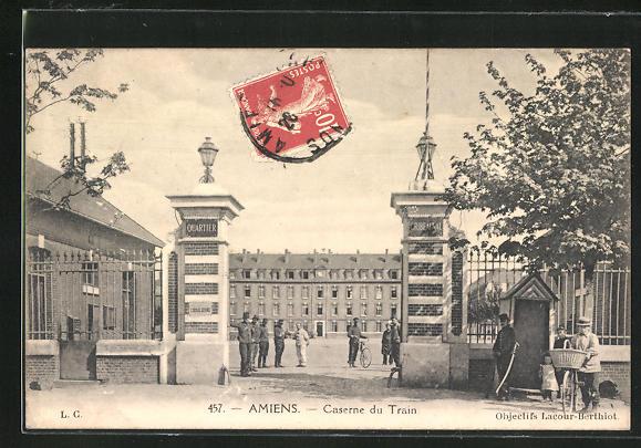 AK Amiens, Caserne du Train 0