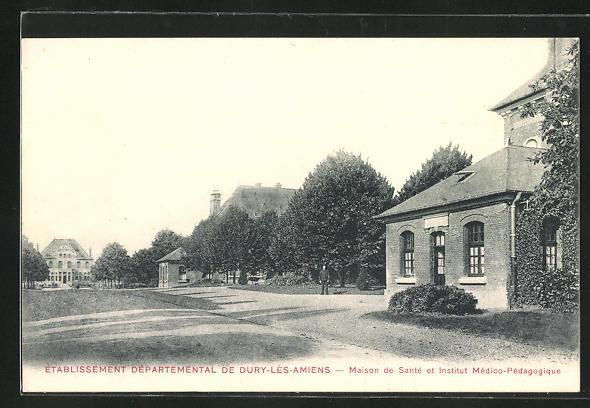 AK Dury-les-Amiens, Etablissement Dèpartemental - Maison de Santè et Institut Mèdico-Pèdagogique