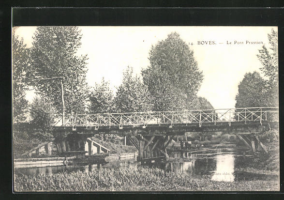 AK Boves, Le Pont Prussien 0